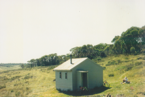 Photo Patty Purves. Derskos Hut bike ride 1994.