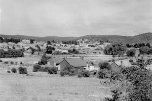 View of Cooma Township, 1947; Peter Woolley Collection.