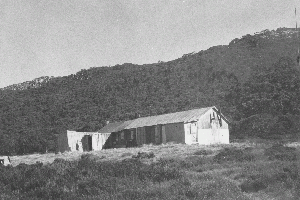 Alpine Hut 1972 Reet Vallack Collection
