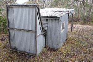 ACT Forests Hut rear view - Greg Hutchison, Apr 2015