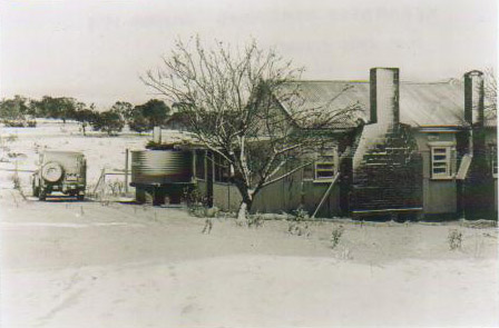 Photo of Merambego hut in nineteen seventy three