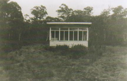 Photo of Montagues Hut in nineteen seventy nine
