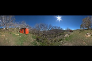 360 degree view of hut and surrounds, &#169 Unknown, 2015